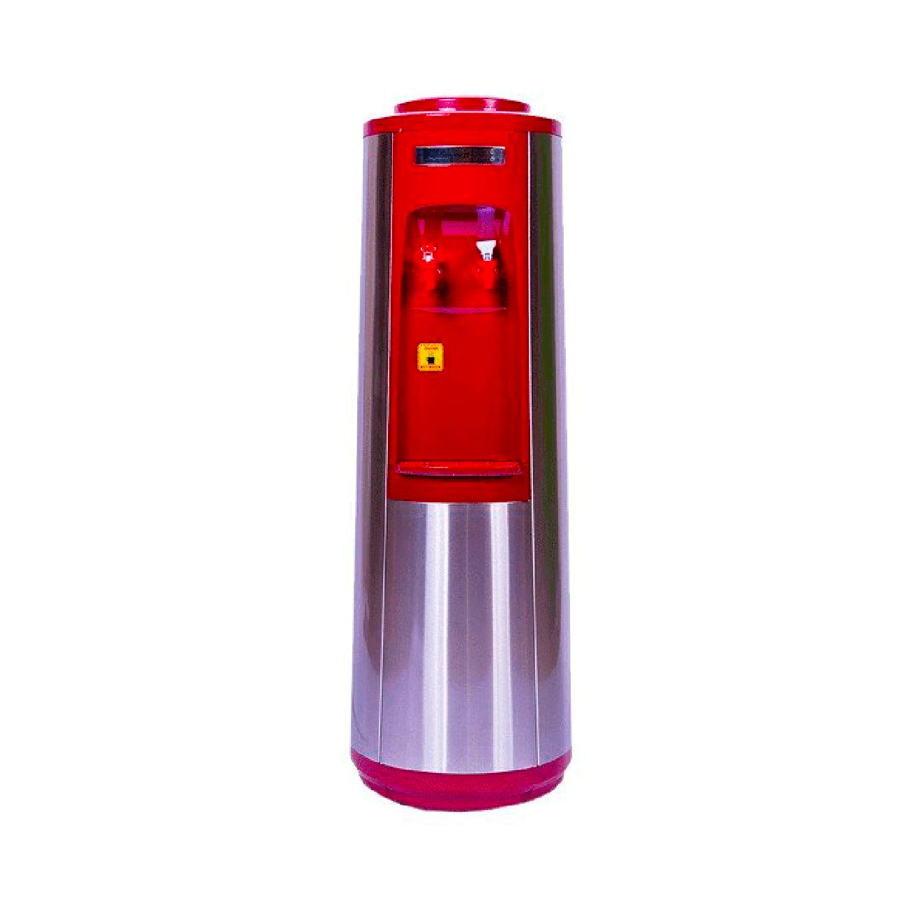 Кулеры напольные - Кулер для воды AquaWorld HC-66L Red (компрессорное охлаждение)
