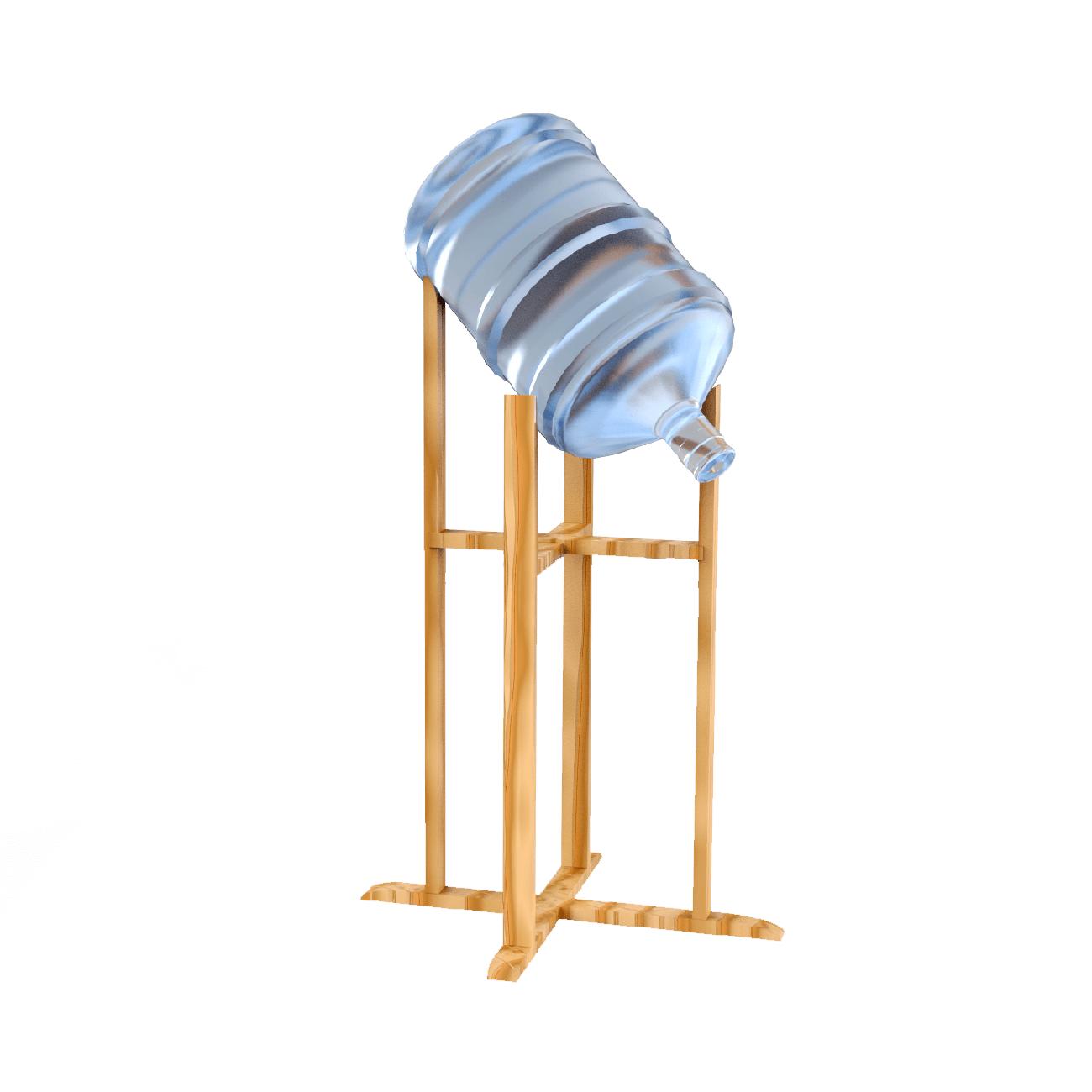 Подставки и полки - Наклонная подставка (деревянная, напольная)