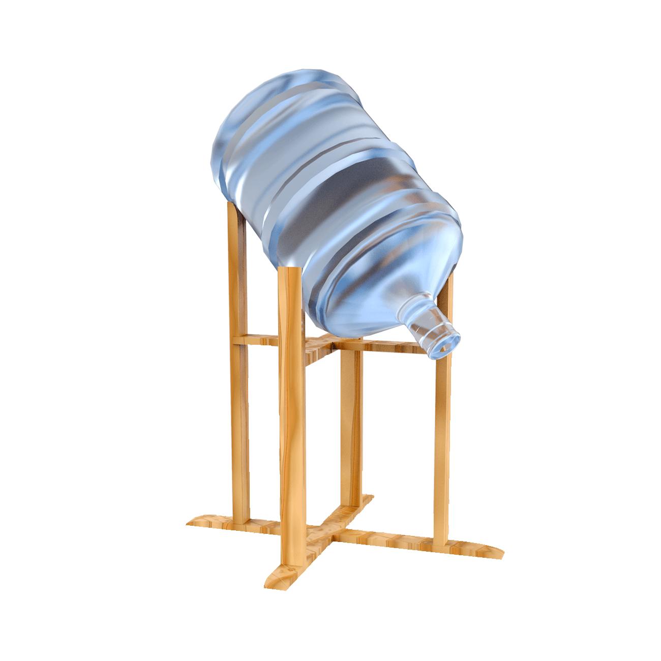 Подставки и полки - Наклонная подставка (деревянная, настольная)